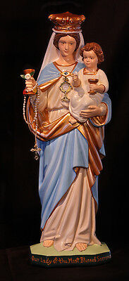 """Our Lady of the Most Blessed Sacrament 16"""" Mary Catholic Christian Statue"""