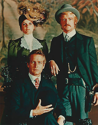 Butch Cassidy Paul Newman Robert Redford 8 X 10 Photo With Ultra Pro Toploader