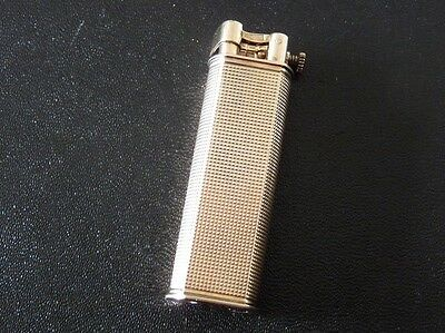 DUNHILL SYLPHIDE LIGHTER SOLID 925 SILVER PLATED IN ROSE GOLD (Vermeil)