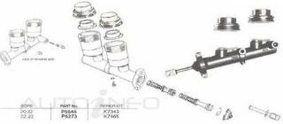 New Genuine *PROTEX* Brake Master Cylinder For TOYOTA CROWN MS65R 4D Sdn RWD.