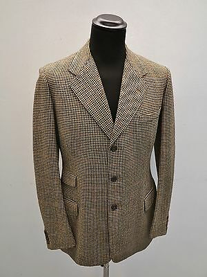 Vtg Bespoke Tweed Jacket 1930s Vtg Aquascutum Jacket 40s Vtg Houndstooth Jacket