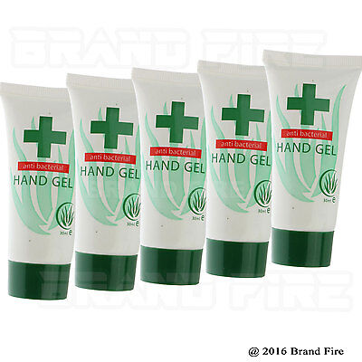 Anti Bacterial Hand Gel Sanitiser 30ml - Travel Pocket Compact NHS Nurse Doctor