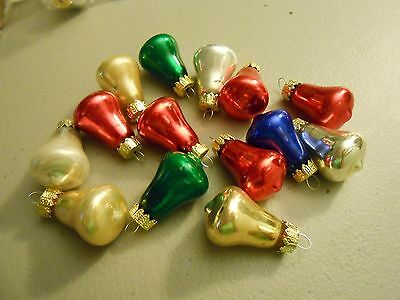 Christmas Set Of Bell Ornaments