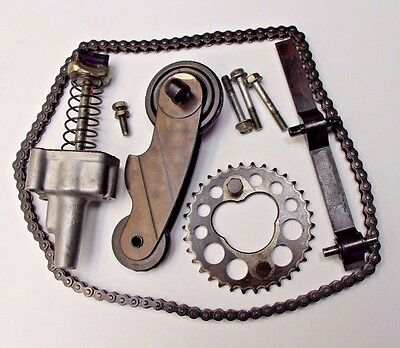 OEM 1977 Honda CB750F Cam Chain w/ Tensioner Set Pulley Sprocket & Guide