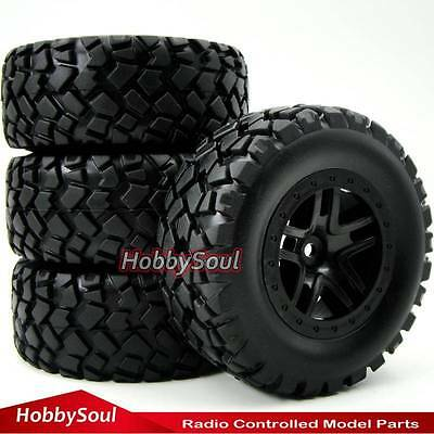 4pcs RC 1//10 short course tires tyre 2.2 3.0in for Traxxas Pro-Line Racing Car