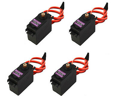 4xMG995 Metal Gear Torque Servo Tower Digitale Metallgetriebe, 3.5-8.4V