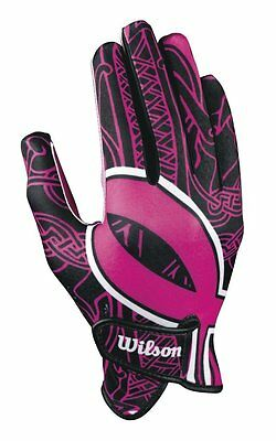 Wilson Receivers Football Glove with Ribbon (pair)