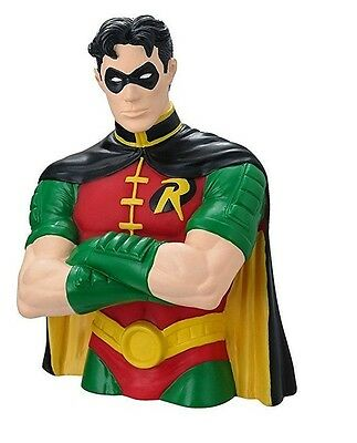 DC Robin Bust Bank Novelty Bust Bank Money/Coin Bank