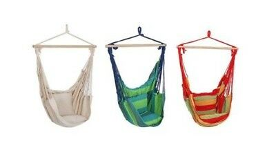 Hanging Chair Hanging Seat hanging chair Hamock Swing Chair with 2 Cushion