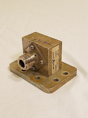 WR-137 WG-42 Waveguide to N-connector Coax Adapter Transition C-band