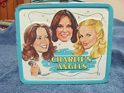1978 CHARLIE'S ANGELS Lunchbox NO Thermos Aladdin Industries