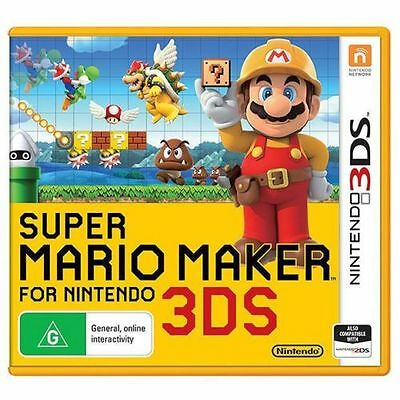 Super Mario Maker Nintendo 3DS Brand New *DISPATCHED FROM BRISBANE*