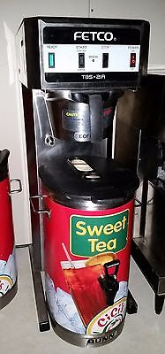 Fetco TBS-21A Commercial Iced Tea Coffee Combo Extractor Brewer Maker 3 Gallon