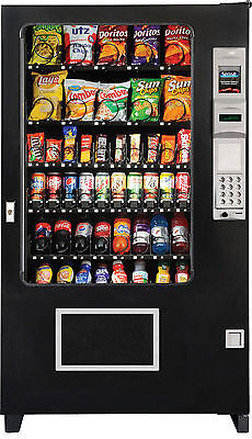 AMS Glass Front Combo Bottle/Snack Vending Machine Brand New Made In America
