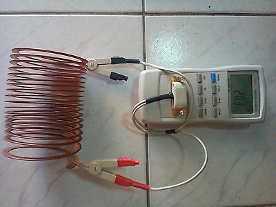 copper strap coil (for heavy power H.F. tube amplifiers)