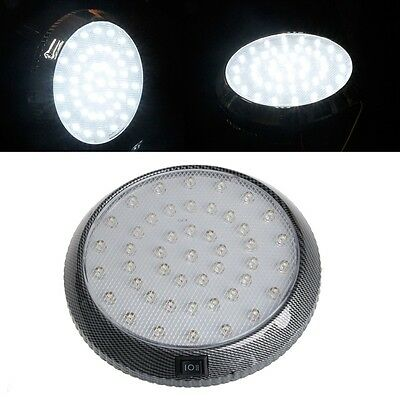 12V 46 LED Car Vehicle Interior Indoor Roof Ceiling Dome Light Lamp White