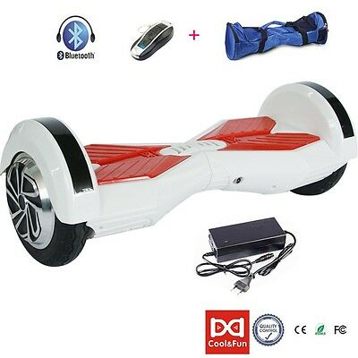 "8""Gyropode overboard Bluetooth Self Balancing Electrique Scooter"