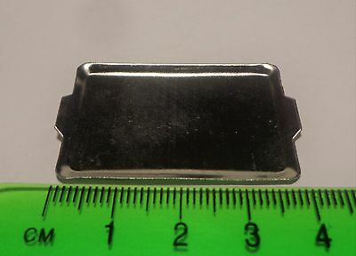 1:12 Scale Dolls House Miniature Metal Tray, Baking Tray Kitchen Accessory