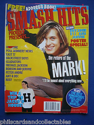 Smash Hits - 6th Nov 1996 - Mark Owen, Robson & Jerome, Peter Andre, Reef
