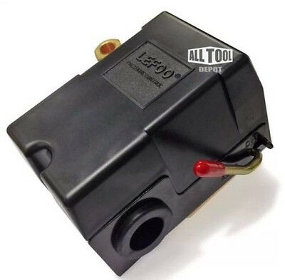 New Pressure switch for air compressor 95-125 Four port w/ unloader on/off lever
