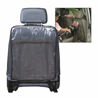 New Car Auto Seat Back Protector Cover For Children Kick Mat Mud Clean Black