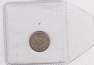 1888 Victoria Jubilee Head Silver Threepence In Mint Condition