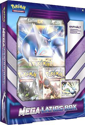 Pokémon - Mega-Latios-Box - deutsch