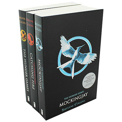 The Hunger Games Trilogy - 3 Book Set by Suzanne Collins (Paperback), Books, New