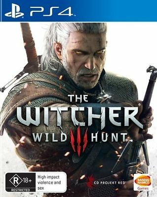The Witcher 3 Wild Hunt Playstation 4 PS4 FREE POSTAGE