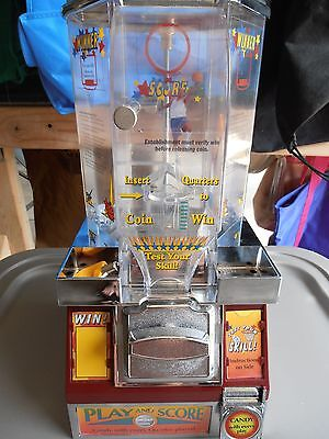 Basketball Coin Shooter Tabletop Candy Machine- multiple-Excellent condition