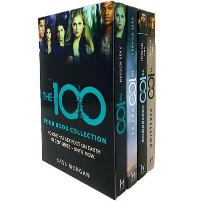 Kass Morgan The 100 Series 4 Books Collection Set Pack Rebellion, Homecoming NEW