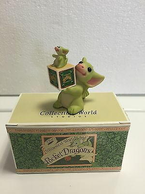 Pocket Dragon Collector. MIB. Whimsical World Of Pocket Dragons
