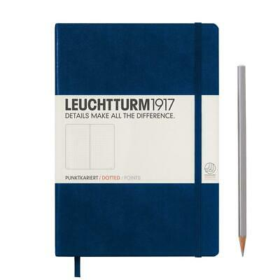 Leuchtturm1917 Notebook Medium A5 Dotted - Navy Hardcover Book
