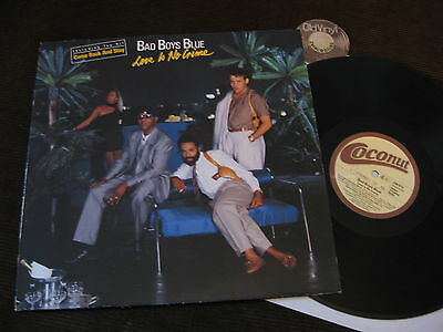 LP Bad Boys Blue Love is no Crime A1 / B1 Germany 1987 | EX