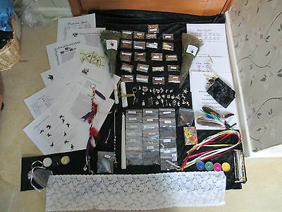 Wicca Massive Spell Casting Kit For  Beginner Herbs Crystals Charms Witch Ladder