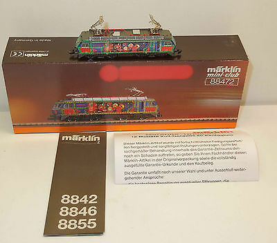 Märklin mini-club 88472 E-Lok der SOB - Metallbaukasten