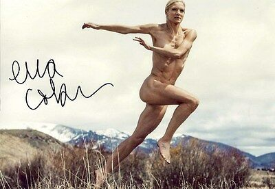 Emma Coburn SEXY OLYMPIC STEEPLECASE autograph, In-Person signed photo