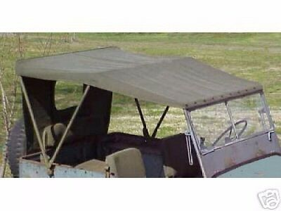 Military Jeep MB/GPW Vehicle Canvas Top 1 DAY HANDLING!!