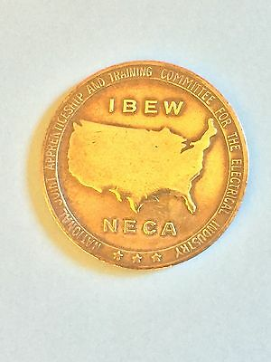 Ibew - Neca Coin /medallion-Ohm's Law-Vintage-Collectable