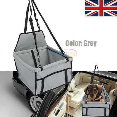Hot Fashion Dog Pet Puppy Safety Car Seat Cover Booster Soft Travel Cage Carrier