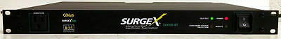 Surgex Sx1120-Rt 8-Outlet Rackmount Surge Protector/power Conditioner