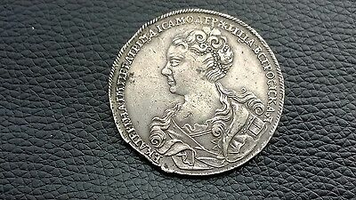 RUSSIA 1 Rouble Ruble 1726 Silver Catherine I (1725-1727)