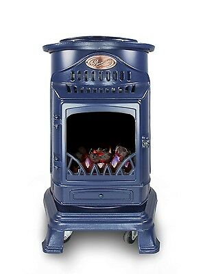 Provence 3kw Portable Gas Heater in Blue