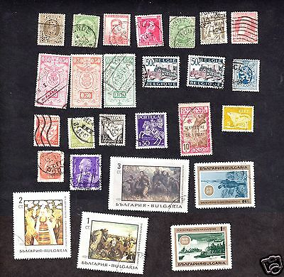 Europe Lot  Used Stamps
