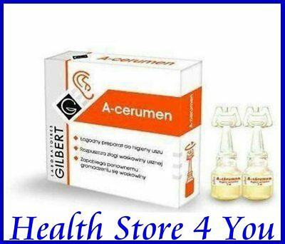 A-cerumen preparation for the ears 4 ampoules, rozpuszcza woskowine uszna
