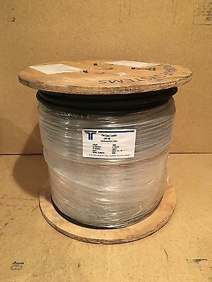 "Times Microwave, Lmr-400 3/8"", 50 Ohm, Low Loss Rf Coax Cable, New 1000' Spool"