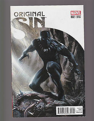 ORIGINAL SIN #2 -- Gabrielle Dell'otto -- 1 in 50 Variant -- Black Panther