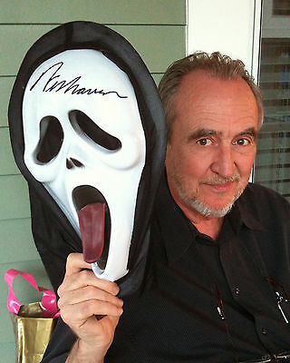 REPRINT - WES CRAVEN 2 Scream Mask autograph autographed signed photo copy