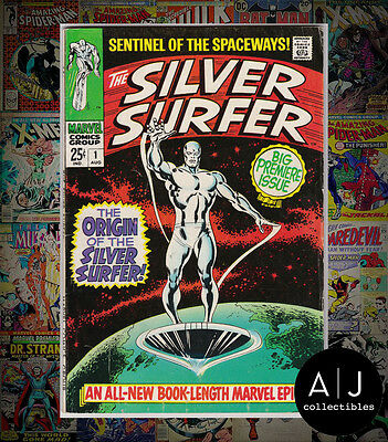 The Silver Surfer #1 (Marvel) FN! HIGH RES SCANS!