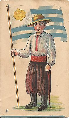 ADVERTISEMENT TRADE CARD - Pioneer Baking Co. - Paterson, NEW JERSEY - URUGUAY